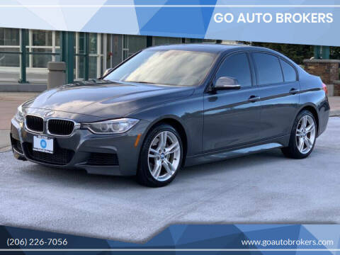 2014 BMW 3 Series for sale at GO AUTO BROKERS in Bellevue WA