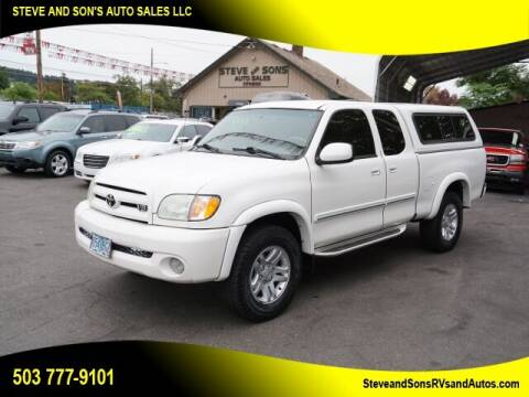 2004 Toyota Tundra for sale at Steve & Sons Auto Sales in Happy Valley OR