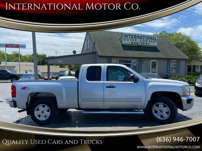 2012 Chevrolet Silverado 1500 for sale at International Motor Co. in St. Charles MO