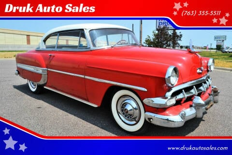 1954 Chevrolet Bel Air for sale at Druk Auto Sales in Ramsey MN