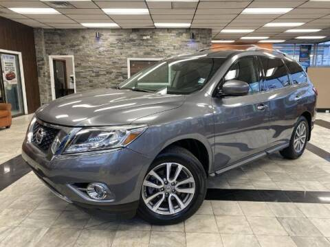 2016 Nissan Pathfinder for sale at Sonias Auto Sales in Worcester MA