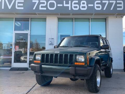 1999 Jeep Cherokee for sale at Shift Automotive in Denver CO