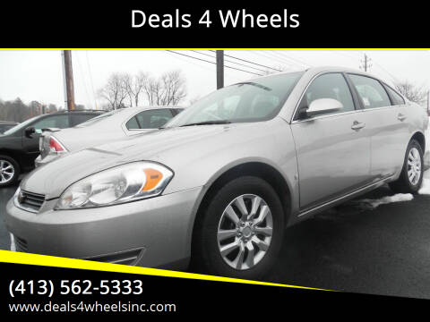 2008 Chevrolet Impala for sale at Deals 4 Wheels in Westfield MA