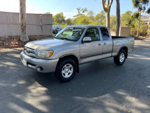 2003 Toyota Tundra for sale at INTEGRITY AUTO in San Diego CA