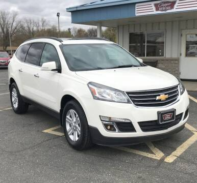 2014 Chevrolet Traverse for sale at Clapper MotorCars in Janesville WI