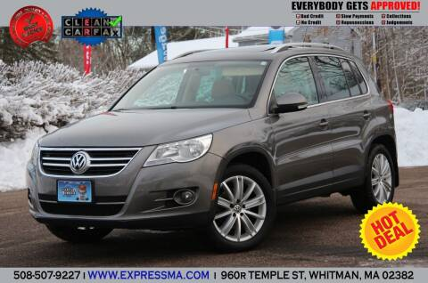 2011 Volkswagen Tiguan for sale at Auto Sales Express in Whitman MA