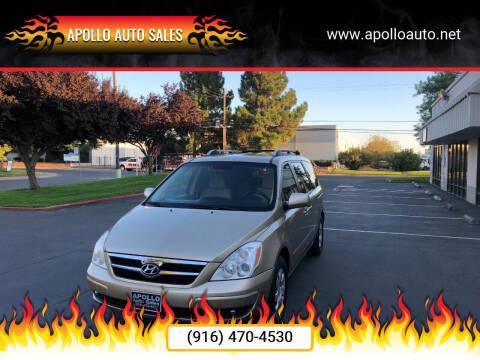 2007 Hyundai Entourage for sale at APOLLO AUTO SALES in Sacramento CA