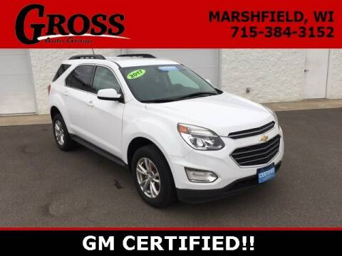 2017 Chevrolet Equinox for sale at Gross Motors of Marshfield in Marshfield WI