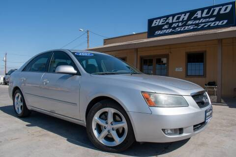 2007 Hyundai Sonata for sale at Beach Auto and RV Sales in Lake Havasu City AZ