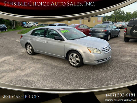2006 Toyota Avalon for sale at Sensible Choice Auto Sales, Inc. in Longwood FL