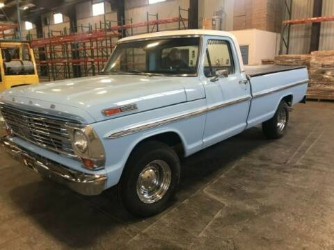 1968 Ford F-100 for sale at Classic Car Deals in Cadillac MI