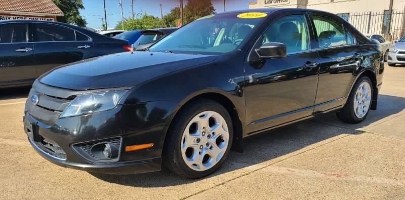 2010 Ford Fusion for sale at CityWide Motors in Garland TX