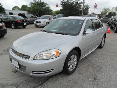 2012 Chevrolet Impala for sale at Talisman Motor City in Houston TX