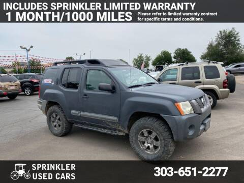 2005 Nissan Xterra for sale at Sprinkler Used Cars in Longmont CO