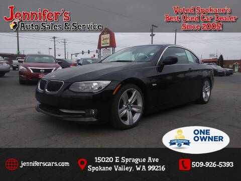 2011 BMW 3 Series for sale at Jennifer's Auto Sales in Spokane Valley WA