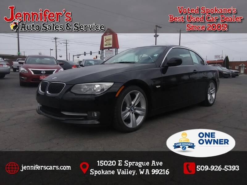 2011 BMW 3 Series for sale at Jennifer's Auto Sales in Spokane Valley WA
