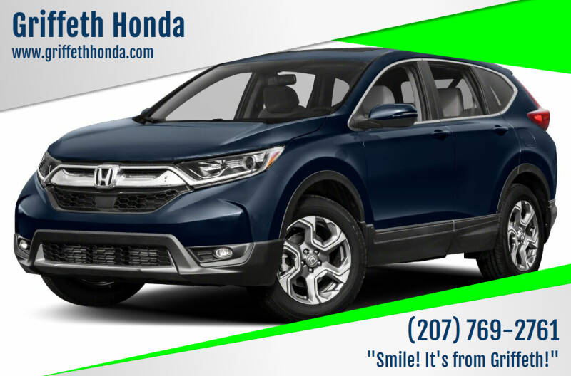 2017 Honda CR-V for sale at Griffeth Honda - Pre Owned in Presque Isle ME