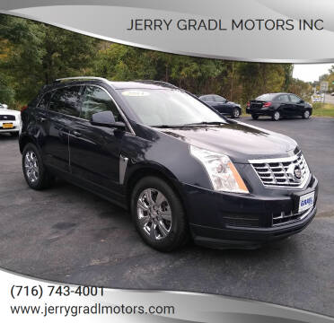 2014 Cadillac SRX for sale at JERRY GRADL MOTORS INC in North Tonawanda NY