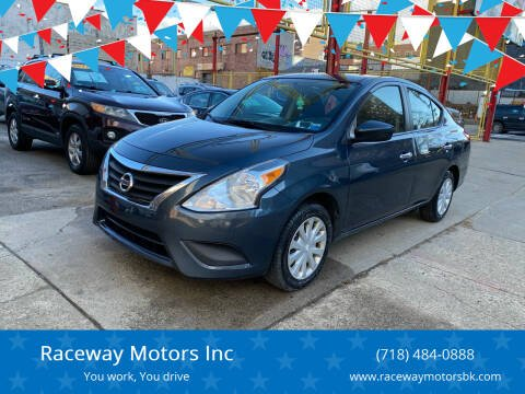 2016 Nissan Versa for sale at Raceway Motors Inc in Brooklyn NY