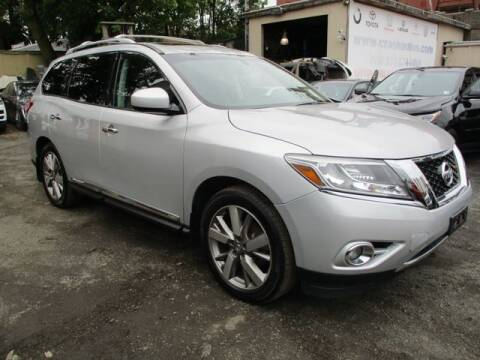 2015 Nissan Pathfinder for sale at MIKE'S AUTO in Orange NJ