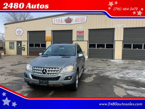 2010 Mercedes-Benz M-Class for sale at 2480 Autos in Kenmore NY
