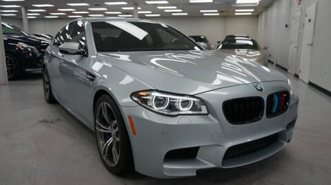 2015 BMW M5 for sale at SZ Motorcars in Woodbury NY
