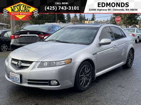 2007 Acura TL for sale at West Coast Auto Works in Edmonds WA