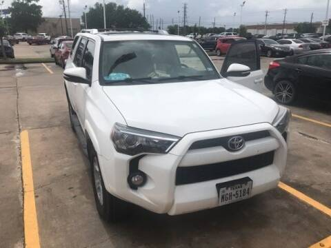 2016 Toyota 4Runner for sale at FREDY USED CAR SALES in Houston TX