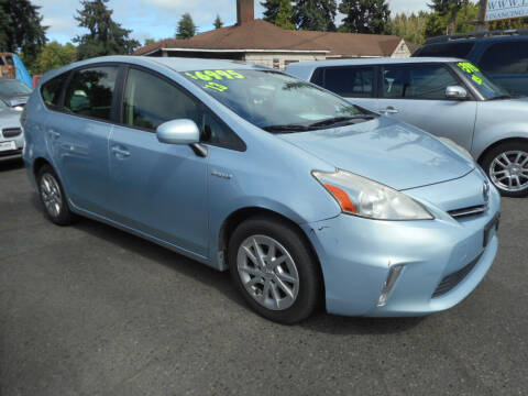 2013 Toyota Prius v for sale at Lino's Autos Inc in Vancouver WA
