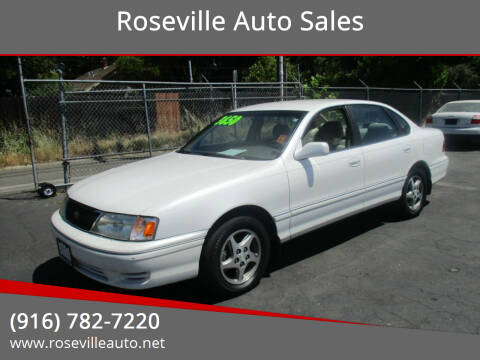 1998 Toyota Avalon for sale at Roseville Auto Sales in Roseville CA