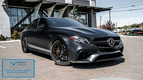 2018 Mercedes-Benz E-Class for sale at MUSCLE MOTORS AUTO SALES INC in Reno NV