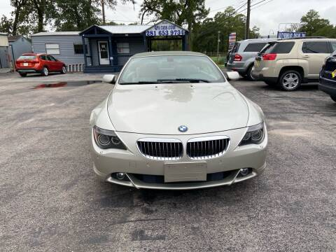2005 BMW 6 Series for sale at QUALITY PREOWNED AUTO in Houston TX