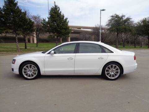 2012 Audi A8 L for sale at ACH AutoHaus in Dallas TX