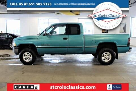 1997 Dodge Ram Pickup 1500 for sale at St. Croix Classics in Lakeland MN