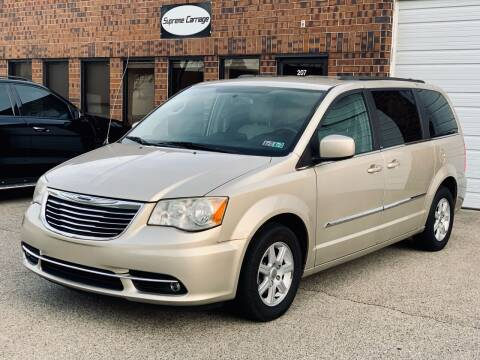 2013 Chrysler Town and Country for sale at Supreme Carriage in Wauconda IL