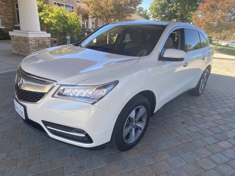2016 Acura MDX for sale at CarSwitch Inc in San Ramon CA