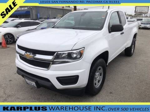 2018 Chevrolet Colorado for sale at Karplus Warehouse in Pacoima CA