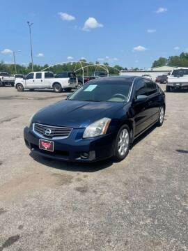 2007 Nissan Maxima for sale at LEE AUTO SALES in McAlester OK