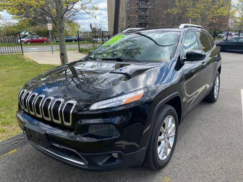 2014 Jeep Cherokee for sale at Commercial Street Auto Sales in Lynn MA