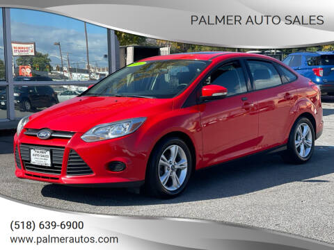 2014 Ford Focus for sale at Palmer Auto Sales in Menands NY