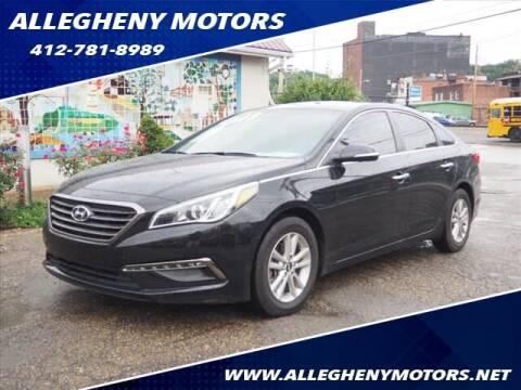 2015 Hyundai Sonata for sale at Allegheny Motors in Pittsburgh PA