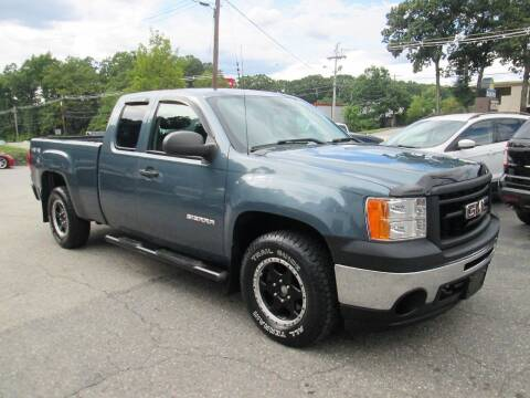 2011 GMC Sierra 1500 for sale at FIORE'S AUTO & TRUCK SALES in Shrewsbury MA