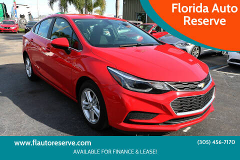 2017 Chevrolet Cruze for sale at Florida Auto Reserve in Medley FL