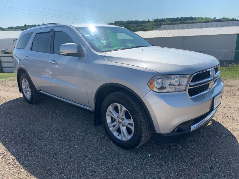2012 Dodge Durango for sale at TRUCK & AUTO SALVAGE in Valley City ND