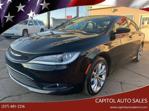 2015 Chrysler 200 for sale at Capitol Auto Sales in Lansing MI