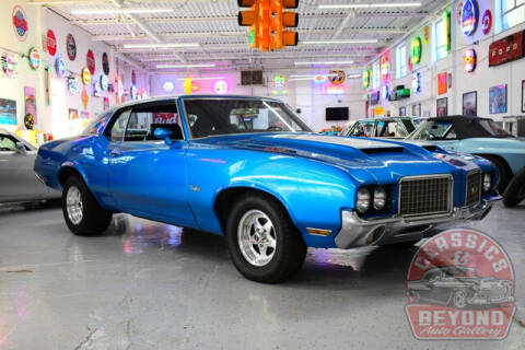 1972 Oldsmobile Cutlass for sale at Classics and Beyond Auto Gallery in Wayne MI