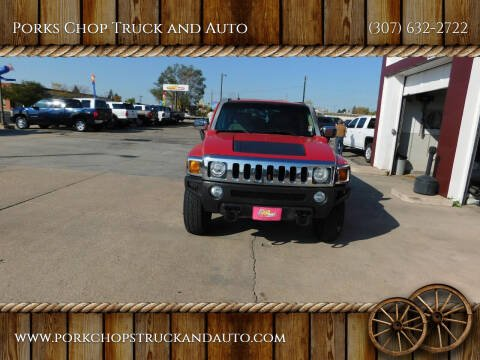 2007 HUMMER H3 for sale at Porks Chop Truck and Auto in Cheyenne WY