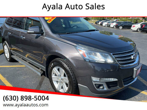 2013 Chevrolet Traverse for sale at Ayala Auto Sales in Aurora IL