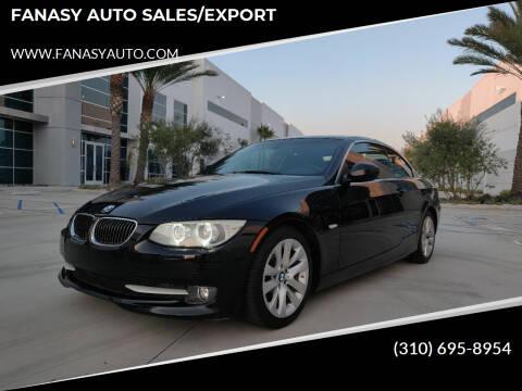 2011 BMW 3 Series for sale at FANASY AUTO SALES/EXPORT in Yorba Linda CA