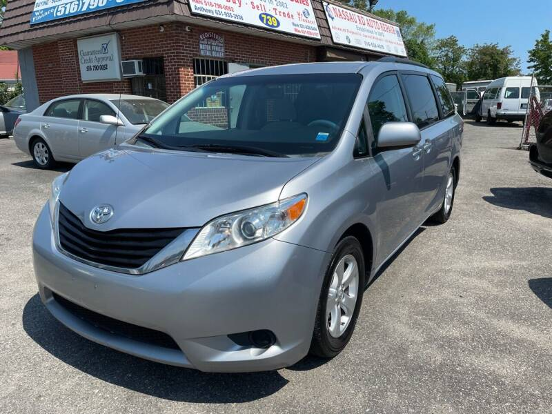 2013 Toyota Sienna for sale at American Best Auto Sales in Uniondale NY
